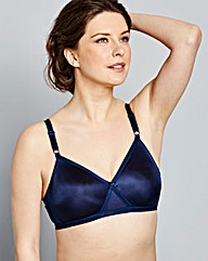 2 Pack Claire Non Wired Nat/Navy Bras