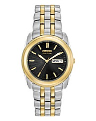 Citizen Eco-Drive Gents Bracelet Watch