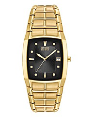 Citizen Eco-Drive Gold Bracelet Watch