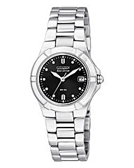 Citizen Eco-Drive Silver Bracelet Watch