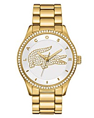 Lacoste Ladies Gold Bracelet Watch