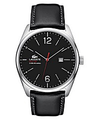 Lacoste Gents Leather Strap Watch
