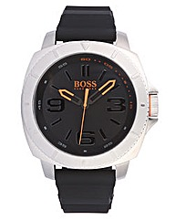 BOSS Orange Silicone Strap Watch