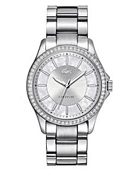 Lacoste Ladies Silver Bracelet Watch