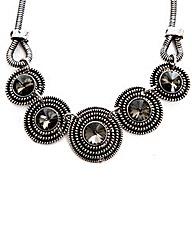 Antique Silver Look Necklace