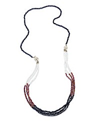 Magnetic Multi-way Fasten Bead Necklace