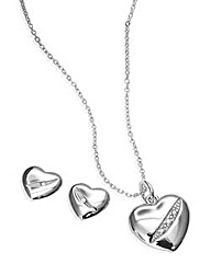 Hot Diamonds Pendant & Earrings Gift Set