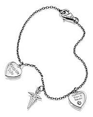 Personalised Medical Charm Bracelet