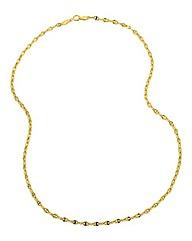 9 Carat 16inch Gold Fancy Chain