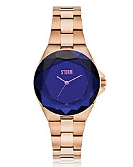 Storm Ladies Crystana Blue Dial Watch
