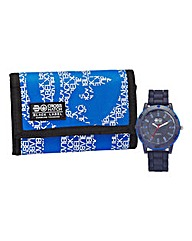 Crosshatch Gents Watch and Wallet Set