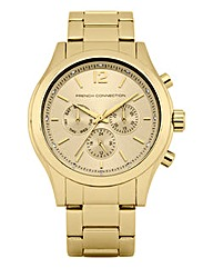 French Connection Gold-tone Watch