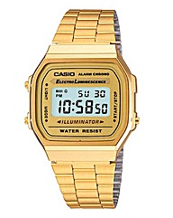 Casio Classic Gold-tone Bracelet Watch
