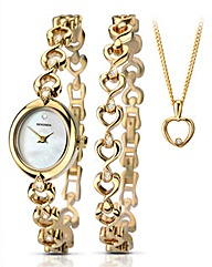 Sekonda Ladies Watch and Jewellery Set