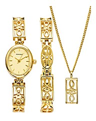 Sekonda Ladies Boxed Watch and Jewellery