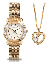 Sekonda Ladies Watch and Jewellery Gift