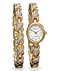 Sekonda Ladies Watch and Bracelet Gift