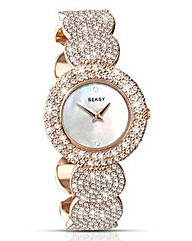 Seksy Ladies Rose-tone Bracelet Watch