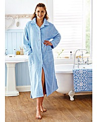 100% Cotton Button Towelling Robe 50 In
