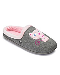 Cat Mule Slipper E Fit