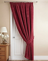 Velour Door Curtain
