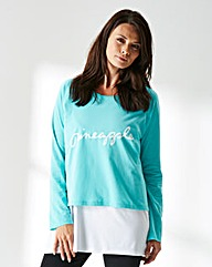 Pineapple Double Layered Pullover