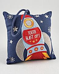 Rocket Toothfairy Cushion
