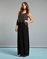 Simply Be Layer Top Maxi Dress