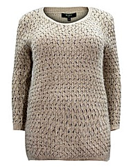 Koko Diamond Thread Knitted Jumper