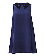 AX Paris Cobalt Blue Swing Dress
