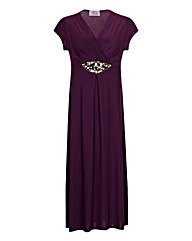 Praslin Embellished Waist Maxi Dress