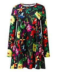 AX Paris Floral Print Swing Dress