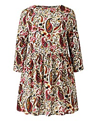 Alice And You Paisley Print Tunic Dress