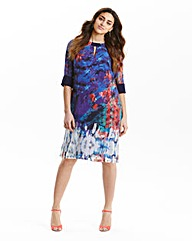 Little Mistress Print Tunic Dress