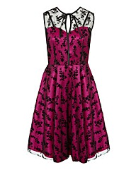 Voodoo Vixen Hattie Tafetta Dress