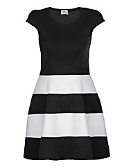 Praslin Stripe Skater Dress