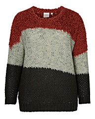 Junarose Mixed Knit Jumper