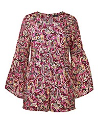 AX Paris Paisley Print Playsuit