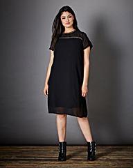 Junarose Embellished Dress