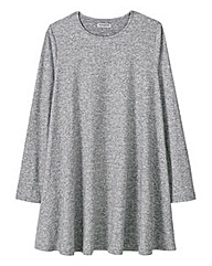 Alice and You Grey Marl Swing Dress