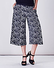 Simply Be Printed Culottes