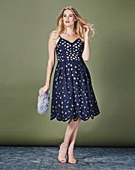 Chi Chi Cutwork Midi Prom Dress