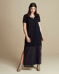 Junarose Split Side Maxi Dress