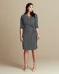 Junarose Knot Waist Dress