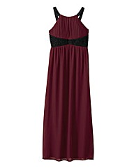 AX Paris Keyhole Contrast Maxi Dress
