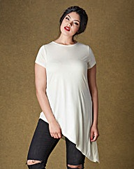 Simply Be Asymmetric T-Shirt