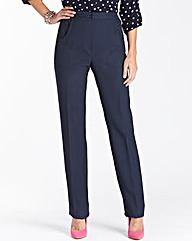 Straight Leg Trousers Length Long