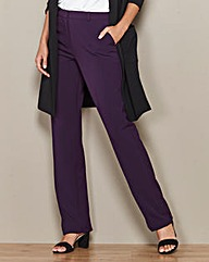 Straight Leg Trousers Length Regular