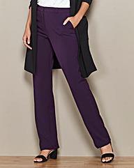 Straight Leg Trousers Length Regular