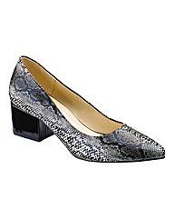 Sole Diva Block Heel Court Shoes E Fit